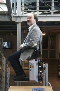 Ein HIRO-Lift im Museum