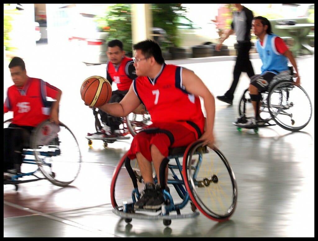 Rollstuhlbasketball in Malaysia (C) Robin Wong Olympus E5