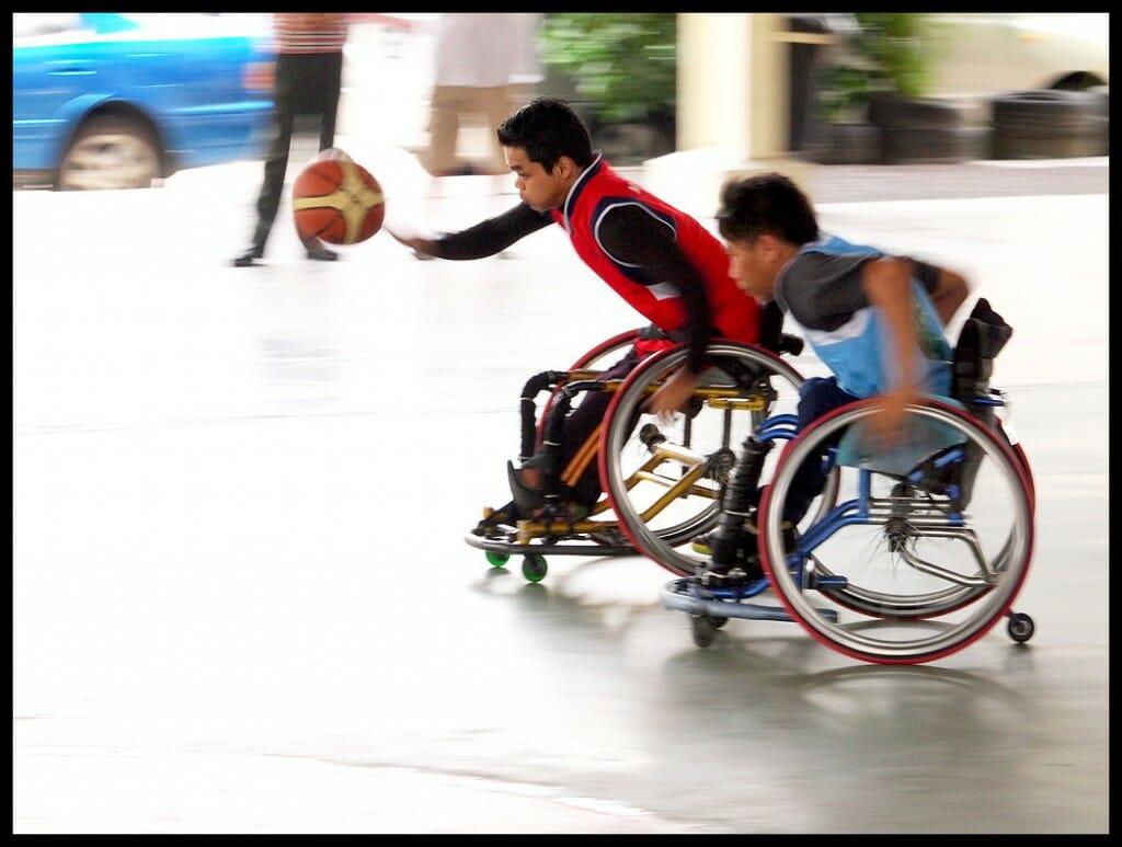 Malayisches Rollstuhl-Basketball Duell - (C) Robin Wong