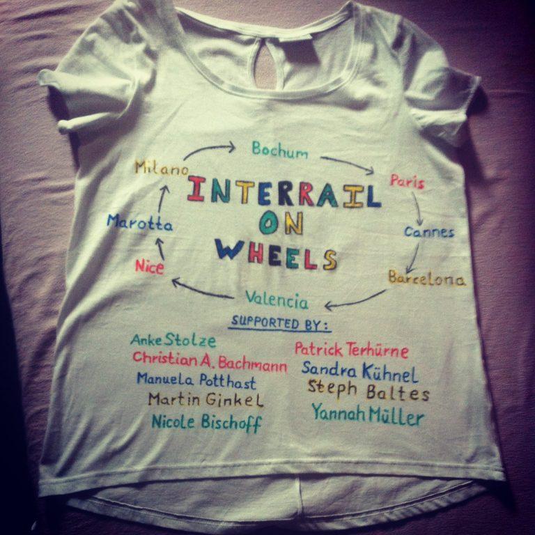 Rollirail T-Shirt von Tanja (C) Tanja Kollodzieyskis