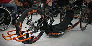 "Handbiker ""Shark RS"" von Medical Sunrise"