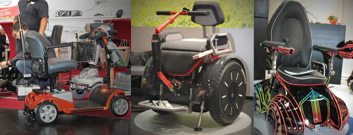 Elektromobilität auf der REHACARE