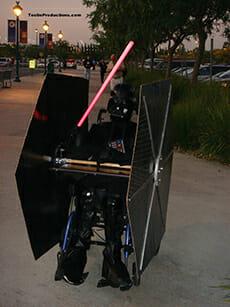 Darth Vader Rollstuhlkostüm
