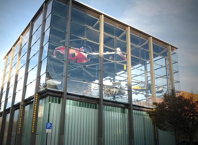 Hubschraubermuseum in Bückeburg