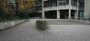 Barreierefreier Zugang zum Bielefelder Rathaus
