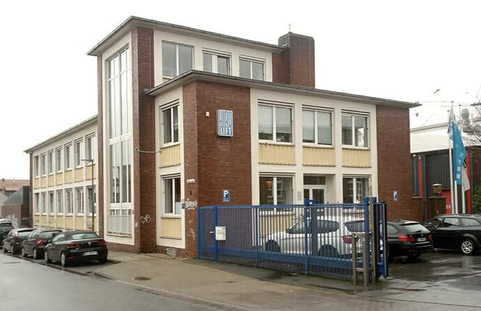 Verwaltungsgebäude der HIRO LIFT GmbH