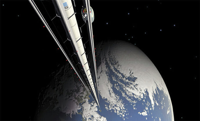 HIRO Weltraumlift
