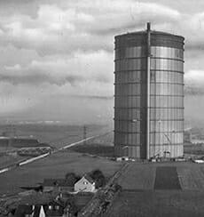 Gasometer der Kokerei Nordstern in Gelsenkirchen
