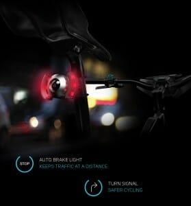 Rücklicht, Bremslicht und Blinker in einem
