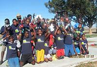 Fußballschuhe für Afrika
