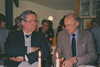 Wilfried Hein und Brian Stannah bei Access AS 1990.
