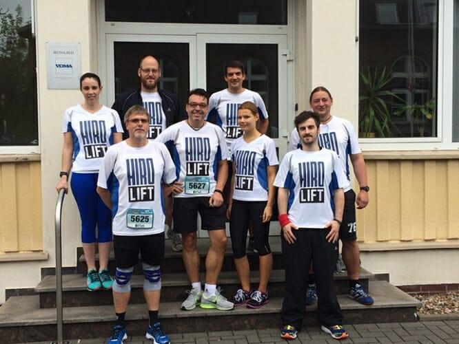 Team-Foto vor dem Start