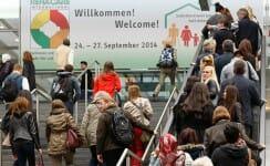 Die REHACARE lockt jedes Jahr viele Besucher in die Messe Düsseldorf, auch HIRO LIFT ist dort vertreten. (Foto: Messe Düsseldorf).