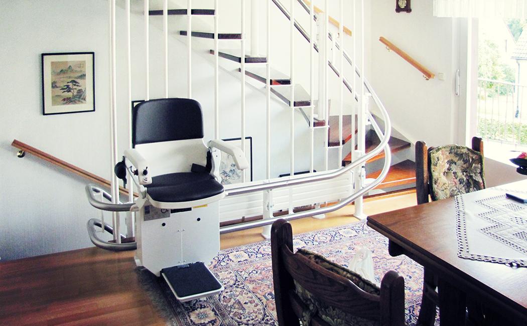 Neue Gestaltungsmöglichkeiten für Treppenlifte von HIRO