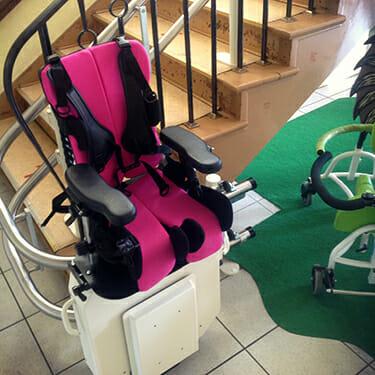 Treppenlift für Kinder