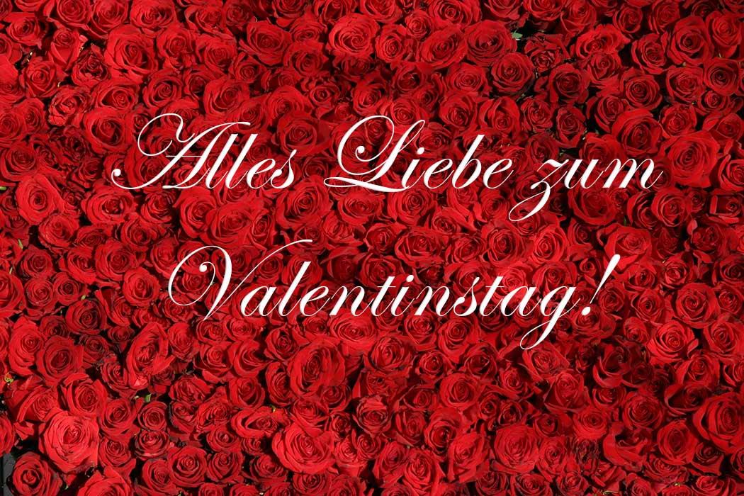 Valentinstag: der Tag der Verliebten