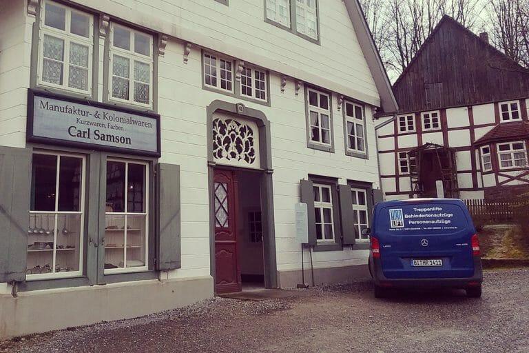 HIRO Bulli im Freilichtmuseum Detmold