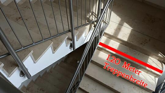 Treppenbreite_Einbahnstraße