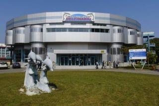Das neue Gebäude des Delfinariums in Konstanza
