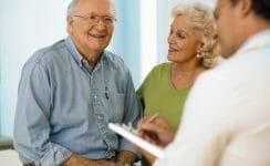 Gespräch Patient und Arzt