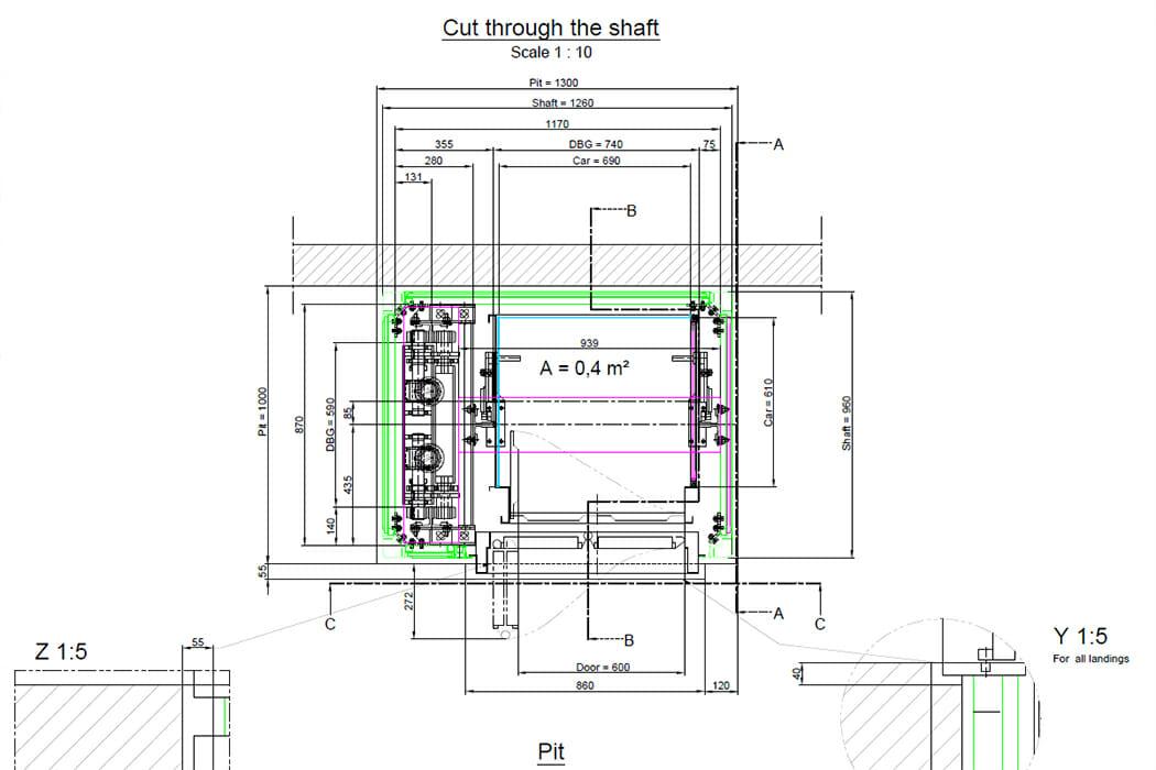 europas kleinster personenaufzug ein hiro 700 das hiro blog. Black Bedroom Furniture Sets. Home Design Ideas