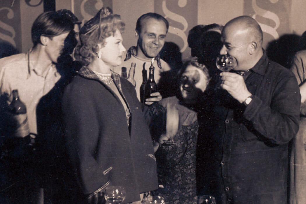 Maria Rökk feiert