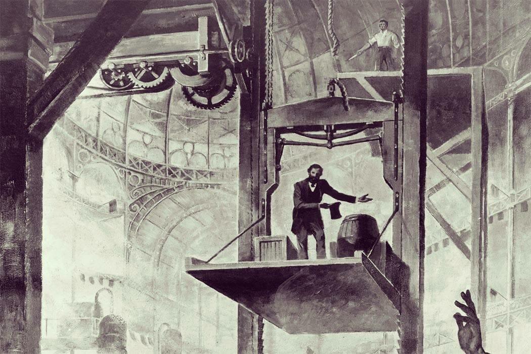 Die Erfindung des Personenaufzugs