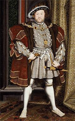 Heinrich der 8. König von England