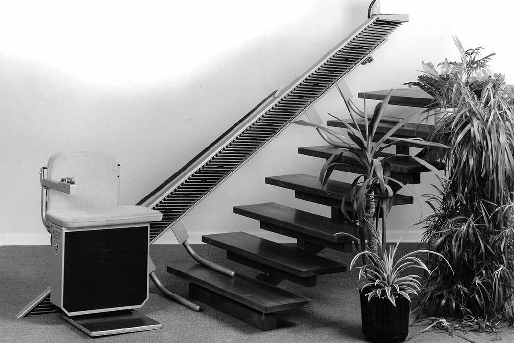 Treppenlift mit Schnecke Segment Antrieb