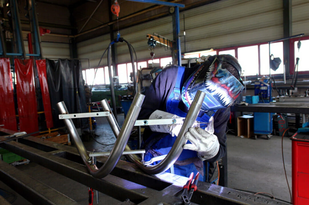 Fertigung bei Deutschlands größtem Treppenlift Hersteller HIRO LIFT