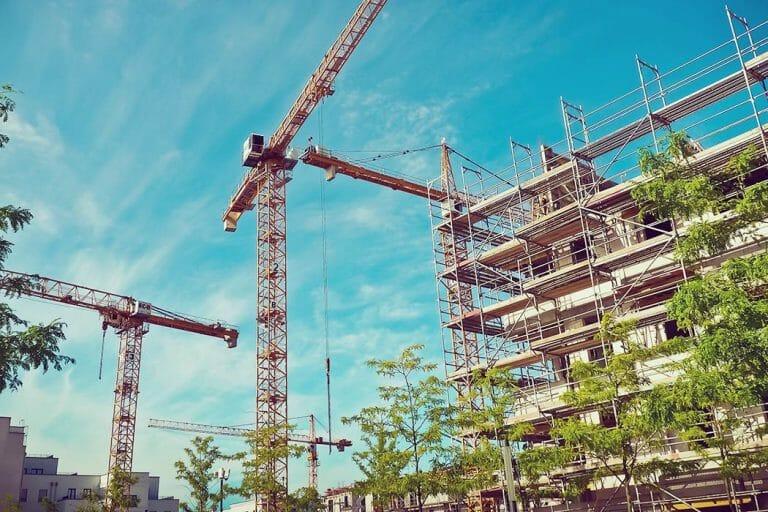 Baustelle barrierefreies Bauen