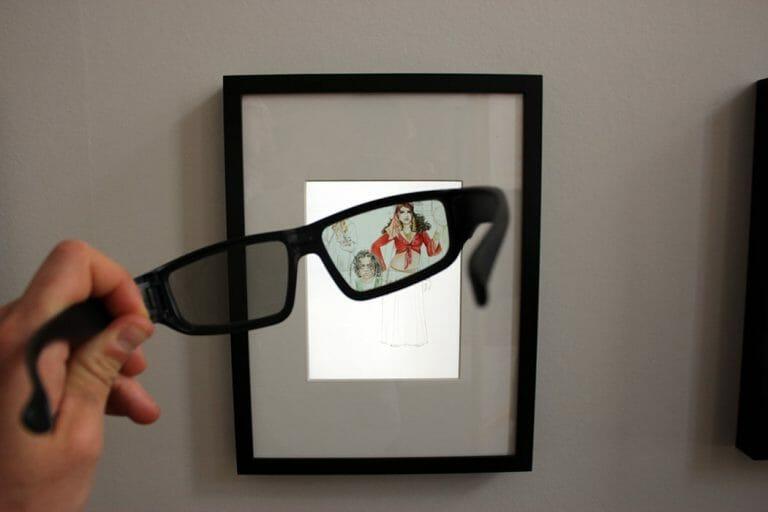 "Die ""Racist Glasses"" im Lernlabor ""Anne Frank. Morgen mehr."""