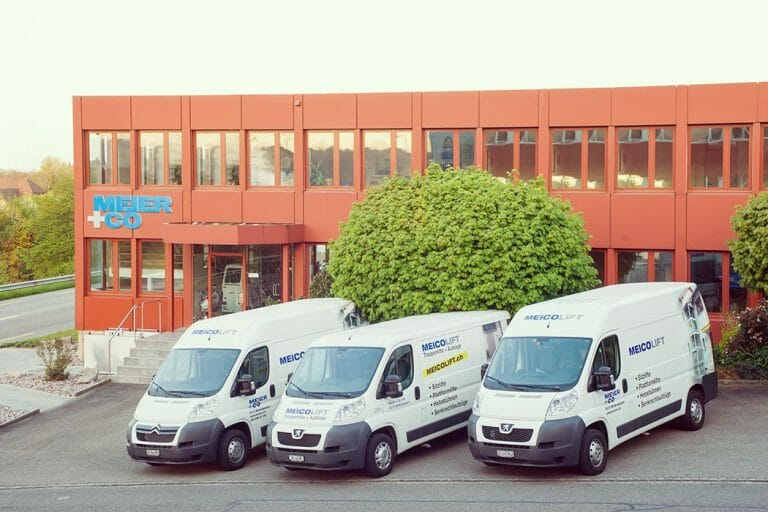 Meier + Co Firmengebäude in der Schweiz