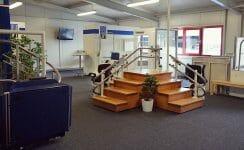 Treppenlift-Ausstellung im Bielefelder HIRO LIFT Werk